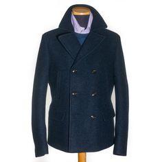 Schneider's Wool Peacot @ www.francomontanelli.it
