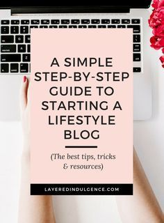 If you're looking to start a successful WordPress blog, check out this step-by-step checklist. You'll learn my best resources, tips and ideas on how to start a lifestyle blog. Plus, I made you a handy dandy workbook you can use to get started! Sound like your cup of tea? Click through to read the post now and save this pin for others to read too! #startablog