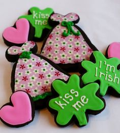 Something a little girlie for St. Patrick's Day!