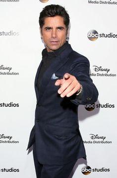 John Stamos was left in a hospital's care after getting arrested and issued a citation for driving under the influence, police said.