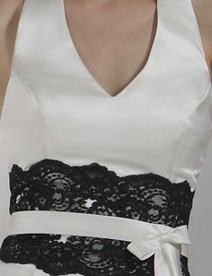 JENICA - Vestido de Fiesta de boda o de Dama de honor de Satén - USD $ 99.99