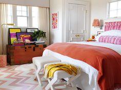 Blanco Interiores: Laranja + Rosa...Orange + Pink