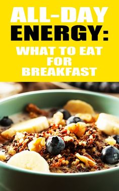 We know you're a busy bunch so a good breakfast goes a long way but sometimes your usual can feel so boring ...sorry porridge. These 5 yummy breakfast recipes are all quick and set to give you all day energy by keeping you fuller for longer! #breakfast #healthyeating