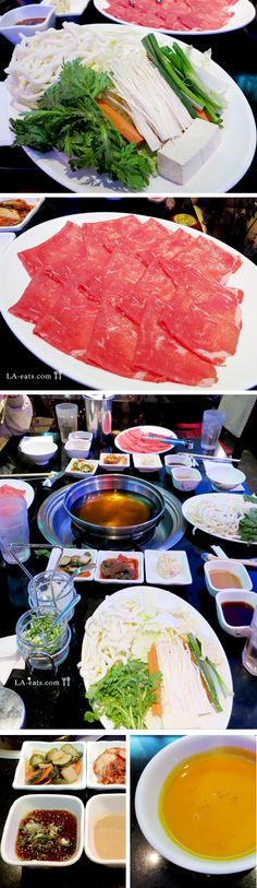 Khan (Korean) Shabu Shabu, Koreatown Korean Recipes, Korean Food, La Eats, Shabu Shabu, Us Foods, Asian Foods, Hot Pot, Pho, South Korea