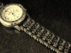 Solomon Ladder paracord watchband/bracelet by Stormdrane