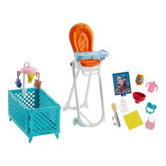 Check out the Barbie Skipper Babysitters Inc. Doll and Playset at the official Barbie website. Explore the world of Barbie today! Barbie Doll Set, Doll Clothes Barbie, Barbie Skipper, Barbie Stuff, Barbies Dolls, Toys For Girls, Kids Toys, Chelsea Doll, Club Chelsea