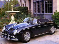1955 Porsche 356A Speedster.