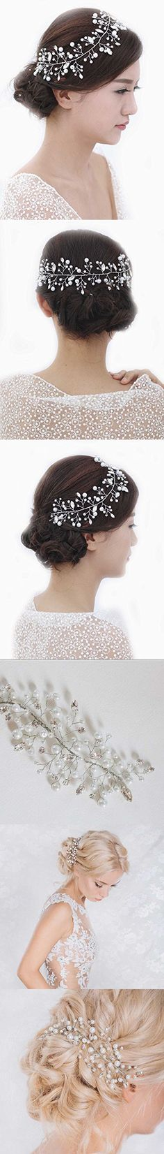 Venusvi Women's Alloy / Resin Headpiece-Wedding / Special Occasion Headbands / Head Chain