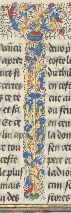 La Fleur des histoires, de Jean Mansel, ou « les hystores rommaines abregies, prinses sur Titus Livius, sur Lucan, Orose, sur Suetoine et su...