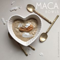 RAW food Macca Bowls http://www.bettybake.co.za/2015/09/maca-bowls.html