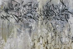 JOSE PARLA, Weschester Plaza, Miami, 2009. mixed media, oil, acrylic and plaster on canvas . 48 x 84 inches, 121.93 x 213.36 cm.