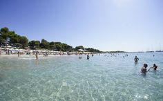 Las Salinas Beach in Ibiza