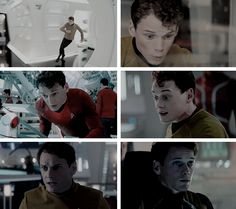 Pavel Chekov | Star Trek, Star Trek Into Darkness, and Star Trek Beyond portrayed by Anton Yelchin RIP