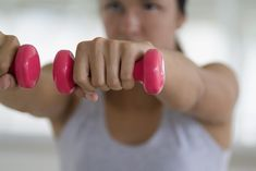 A split workout routine targets one or two specific muscle groups on different days. The American College of Sports Medicine recommends that for general health, do two days a week of weight training that targets every muscle group at least once. Arm Exercises With Weights, Arm Toning Exercises, Aerobic Exercises, Belly Exercises, Exercise Workouts, Floor Workouts, Diet Exercise, Workout Tips, Regular Exercise