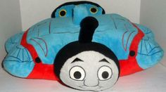 Transforms From Pillow To Stuffed Toy. Great Pre-Owned Condition. Cuddle Pillow, Amazing Toys, Thomas The Tank, Dora The Explorer, Stuffed Toy, Animal Pillows, Cool Toys, Cuddling, Engine