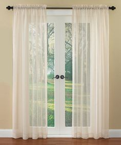 Take a look at this Sheer Breeze Window Panel by Ellery Homestyles on #zulily today!