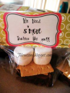 We Need S'more Teachers Like You!! {from the PTA}