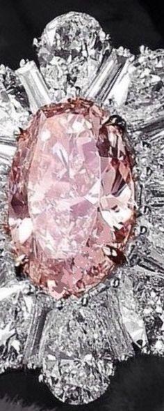 Pink Diamond Jewelry - rare and expensive, how much do they cost? Pink Diamond Ring, Diamond Jewelry, Marquise Diamond, Rough Diamond, Pink Love, Pretty In Pink, Premier Designs Jewelry, Jewelry Design, Bling