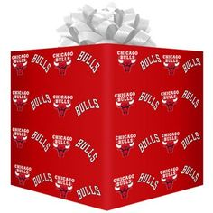 Chicago Bulls Flat Wrapping Paper