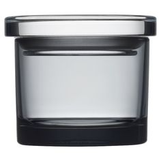 Found it at AllModern - Glass Jar in Gray
