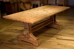 Building a dining room table is a post that will provide you with the process of getting the job done.