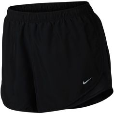 Nike Plus Size Tempo Dri-fit Track Shorts ($30) ❤ liked on Polyvore featuring nike