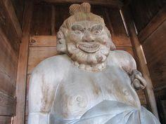 新潟・真福寺/仁王像(阿像)