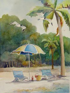 "~""Beach Day""~ by Sue Lynn Cotton"