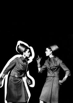 Yves Saint Laurent, 1962. Photo: William Klein.