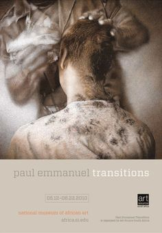 """South African artist Paul Emmanuel's """"Transitions,"""" was an installation of five drawings and the critically acclaimed film 3SAI: A Rite of Passage. """"Transitions"""" comprises a series of five ostensibly """"photographic"""" works which, when examined closely, reveal sensitively hand-drawn, photo-realist images on photographic paper. The works contemplate manhood and the transitions an individual goes through in society."""