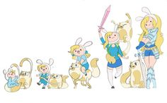 Fionna and Cake Timeline by kikaigaku.deviantart.com on @DeviantArt