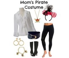 Halloween - Women's Pirate Costume (Disney Inspired)