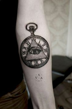 Andrey Svetov #Clock #Eyeofprovidence