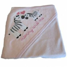 Babytæppe/svøb zebra