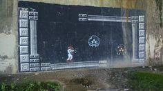 Some vandalism under a bridge in my town - Imgur