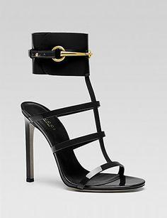 GUCCI Ursula Cage High Heel Sandal
