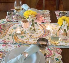 Bright and lovely, Adalynn makes a great Spring tabletop decor. #Spring #Decor
