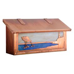 Americas Finest Lighting Shorebird Horizontal Mailbox - AF-1752-NV-GI