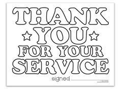 Thank You Military Coloring Pages Memorial Day Coloring Pages