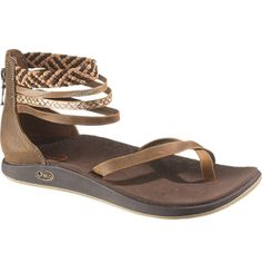 The New Chaco Dawkins Sandal. I love the anklet detail.