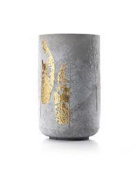 Concrete Vase gold