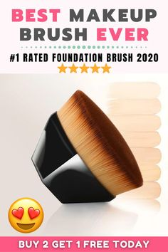 Best Foundation Makeup, Flawless Foundation, Foundation Brush, Best Makeup Brushes, Best Makeup Products, Beauty Products, Liquid Makeup, Eye Makeup, Beauty Hacks