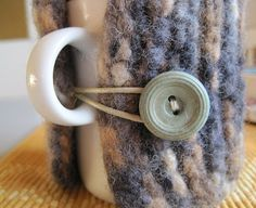 Cup Cozy Mug Cozy cup coffee cup tea father day by woolpleasure, $9.99
