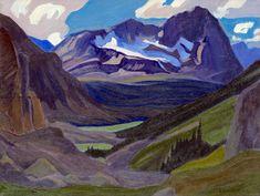 J. E. H. MacDonald (Canadian, born United Kingdom 1873-1932) Mount Oderay 1930 Oil on canvas