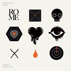 ROME icons — Designspiration