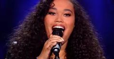 source: The voice of Holland The judges had no idea what was about to hit them when Romy Monteiro took stage. Just a few seconds in and you'll understand why all the judges just HAD to turn around. WOW!