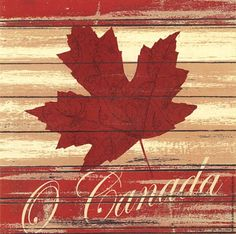 O Canada Art Print by Jo Moulton