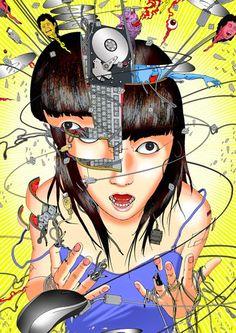 "Las mentes ""abiertas"" de Shintaro Kago"
