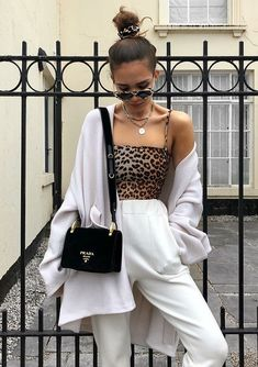 How To Style Leopard Print Summer Sprint Outfit Ideas Fashion Inspo Fashion Killa, Look Fashion, Winter Fashion, Mode Outfits, Fashion Outfits, Womens Fashion, Fashion Tips, Fashion Trends, Looks Style