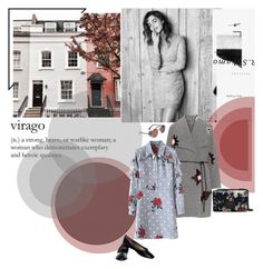 """""""virago"""" by mariettamyan ❤ liked on Polyvore featuring Open End and Henri Bendel"""